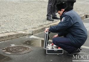 Фотогалерея: От убийства до теракта. Последствия взрыва в центре Днепропетровска