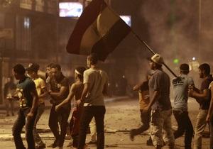В Каире протестующие обвинили Францию в провоцировании новых беспорядков