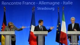Париж и Берлин хотят изменить договоры ЕС ради евро