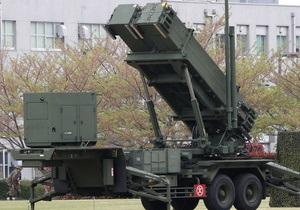 Япония развернула системы перехвата из-за возможных ракетных испытаний КНДР