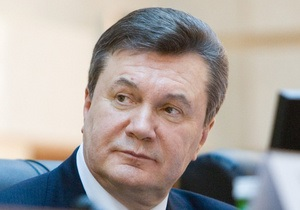Янукович три раза в неделю играет в теннис
