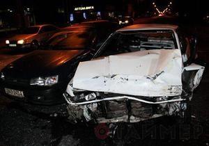 В Одессе произошло ДТП с участием трех авто, семь человек госпитализированы