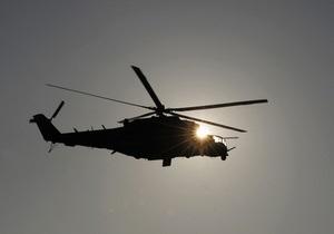 В России потерпел крушение боевой вертолет