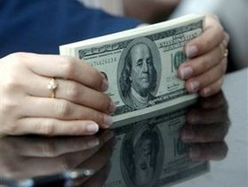 Торги на межбанке открылись в диапазоне 7,95-7,96 гривны за доллар