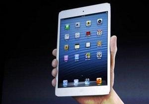 Гендиректор Apple раскритиковал компактные планшеты конкурентов