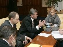 Встреча у Ющенко закончилась ничем