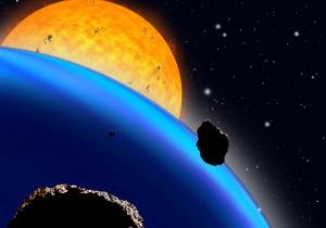 Протонный шторм начался в окрестностях Земли