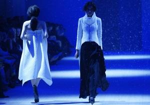 Владимир Подолян устроил снегопад на Ukrainian Fashion Week