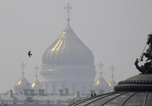 В России проходит богослужение В защиту веры