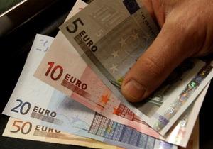 Евро на межбанке преодолел отметку в 10,65 грн