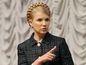 Тимошенко: Тепло, газ и воду Черновецкий подключил, но людей на улицы все-таки вывел