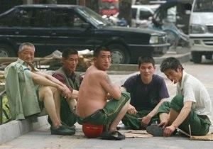 Власти Китая переселяют 65 тысяч человек