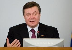 Янукович обещает Украине бездефицитный бюджет уже в этом году