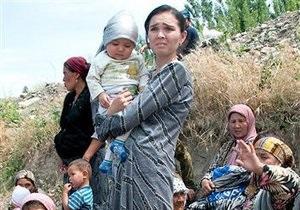 ООН насчитывает более миллиона беженцев при беспорядках в Кыргызстане