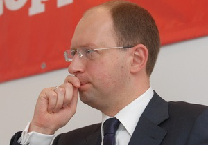 Яценюк нашел ошибку в указе Януковича о выборах