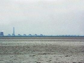 Новости Украины - непогода в Украине: В Каховском водохранилище село на мель буксирное судно