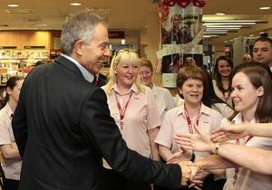 Блэр может отменить автограф-сессию из-за возможных выступлений пацифистов