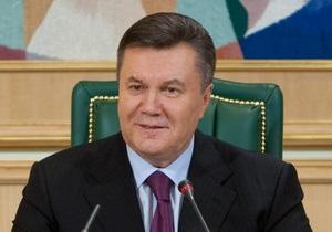 Янукович видит разумный компромисс итогом газовых переговоров с Россией