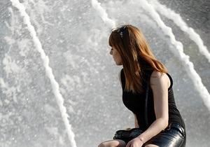 Завтра в Киеве начнут работать фонтаны