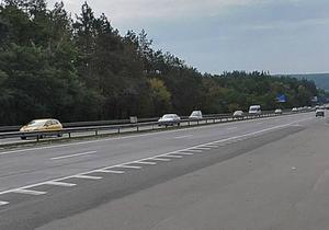 С завтрашнего дня на трассе Киев-Одесса будет ограничено движение