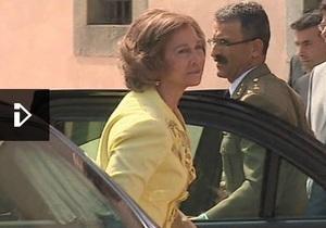Королеву Испании освистала толпа - видео