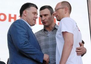 Кличко - новости Киева - выборы мэра Киева - оппозиция - единый кандидат от оппозиции - Кличко: У оппозиции есть единый кандидат на выборы в Киеве
