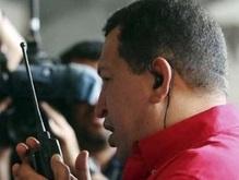 Чавес стягивает войска к границе с Колумбией