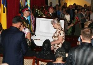 В Макеевке похоронили Василия Джарты