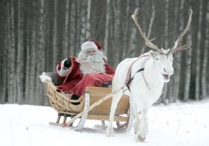 Физики выяснили, с какой скоростью передвигается Дед Мороз