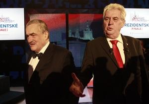 В Чехии начался второй тур президентских выборов