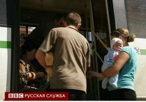 Жителям Крымска выдают хлеб и воду