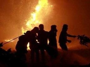 Лесные пожары в пригородах Афин: борьба с огнем продолжается