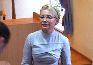 Тимошенко попросила Киреева проводить заседания суда  хотя бы через день