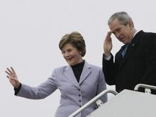 Буш отбыл в Украину