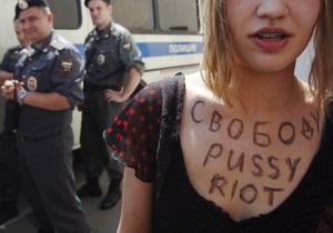Участниц Pussy Riot этапировали в колонию
