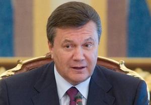 Янукович: Украинский народ не хочет быть участником военного блока
