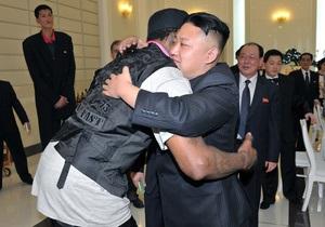 Деннис Родман намерен провести летний отпуск с Ким Чен Уном