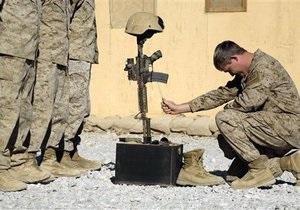 Потери США в Афганистане в августе стали самыми высокими за 10 лет войны