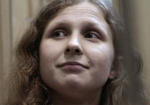 Суд рассматривает отсрочку наказания для Марии Алехиной