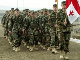 Саакашвили: Афганистан - уникальная военная школа для грузинских солдат
