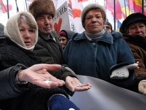 Опрос: Более 10% украинцев готовы к участию в незаконных силовых акциях протеста