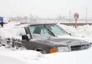 На Одессу надвигается снежный буран: все выезды из города перекрыты