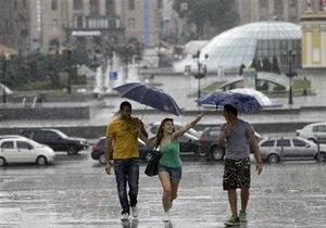 Погода в Украине - погода в Киеве: Сегодня на большей части Украины ожидаются дожди