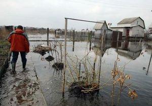 новости Киева - потоп - наводнение - паводок - Под Киевом затопило несколько сотен домов - газета