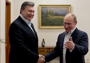 День России - Янукович - Путин - Есть потенциал для углубления связей. Янукович поздравил Путина с Днем России