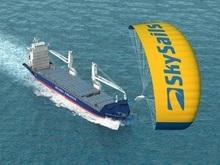 Экологически чистое судно-змей совершило первый рейс