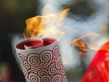 Казахстан принял эстафету Олимпийского огня