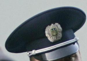 В киевском райотделе милиции мужчина напал на участкового