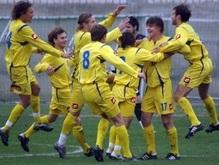 Юниорская сборная Украины по футболу обыграла итальянцев