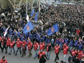 Грузинская оппозиция будет митинговать круглосуточно